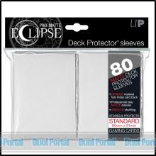 ウルトラプロ 通常サイズカード用デッキプロテクター 非光沢[イクリプス]/白