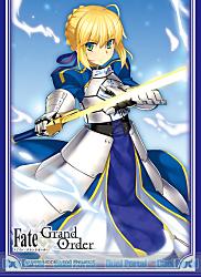 きゃらスリーブコレクション マットシリーズ Fate/Grand Order セイバー/アルトリア・ペンドラゴン(イラスト:無望菜志)