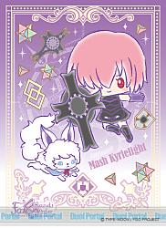 キャラクタースリーブ Fate/Grand Order【Design produced by Sanrio】 マシュ・キリエライト(EN-528)