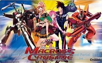 Crusadeプレイマット マクロスシリーズ