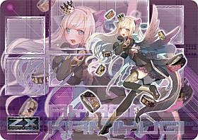 ラバープレイマット Z/X -Zillions of enemy X- 「上柚木綾瀬(IGOB)」