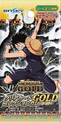 ONE PIECE FILM GOLD クリアカードコレクションガム GOLD