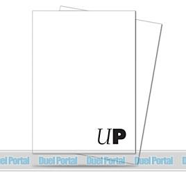 ウルトラプロ [PRO Team] ロゴ デッキプロテクター(白)