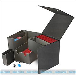 ウルトラプロ キューブ大型デッキボックス/黒