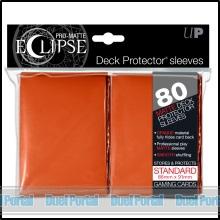 ウルトラプロ 通常サイズカード用デッキプロテクター 非光沢[イクリプス]/オレンジ