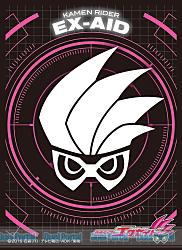 キャラクタースリーブ 仮面ライダーエグゼイド 仮面ライダーエグゼイド エンブレム(EN-424)