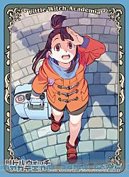 キャラクタースリーブ リトルウィッチアカデミア アツコ・カガリ(EN-445)