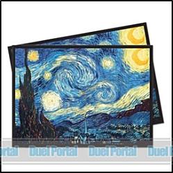 ウルトラプロ 通常カード用デッキプロテクター 名画/星月夜