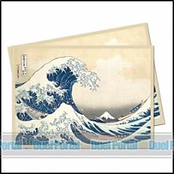 ウルトラプロ 通常カード用デッキプロテクター 名画/神奈川沖浪裏