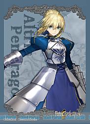 ブロッコリーキャラクタースリーブ Fate/EXTELLA「アルトリア・ペンドラゴン」