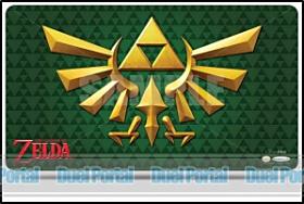 ウルトラプロ プレイマット ゼルダの伝説/紋章(緑)