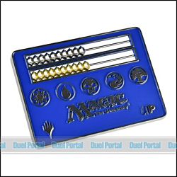 ウルトラプロ マジック カードサイズそろばん型ライフカウンター/青