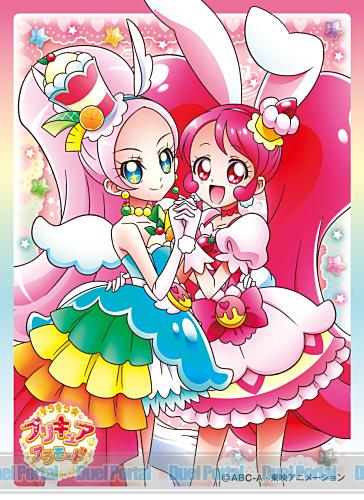 キャラクタースリーブ キラキラ☆プリキュアアラモード キュアホイップ&キュアパルフェ(EN-515)