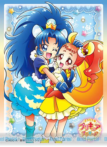 キャラクタースリーブ キラキラ☆プリキュアアラモード キュアカスタード&キュアジェラート(EN-516)