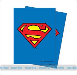 ウルトラプロ 通常カード用デッキプロテクター ジャスティス・リーグ/スーパーマン