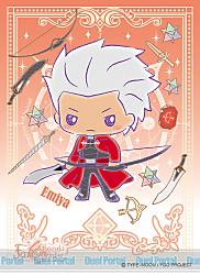 キャラクタースリーブ Fate/Grand Order【Design produced by Sanrio】 エミヤ(EN-531)