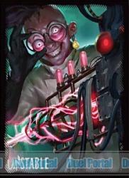 マジック:ザ・ギャザリング プレイヤーズカードスリーブ 『アンステイブル』 《飛び切りの殺人光線》 (MTGS-022)