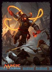 マジック:ザ・ギャザリング プレイヤーズカードスリーブ 『イクサランの相克』 《ミノタウルスの海賊、アングラス》 (MTGS-025)
