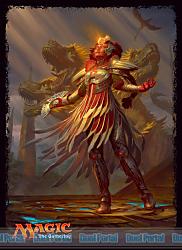 マジック:ザ・ギャザリング プレイヤーズカードスリーブ 『イクサランの相克』 《光輝の勇者、ファートリ》 (MTGS-026)