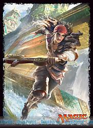 マジック:ザ・ギャザリング プレイヤーズカードスリーブ 『イクサランの相克』 《風雲艦隊の疾走者》 (MTGS-027)