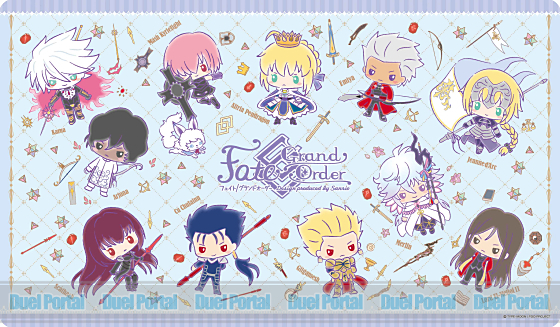 キャラクターラバーマット Fate/Grand Order【Design produced by Sanrio】 (ENR-023)