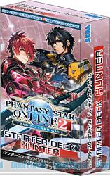 PHANTASY STAR ONLINE 2 TRADING CARD GAME スターター デッキ ハンター