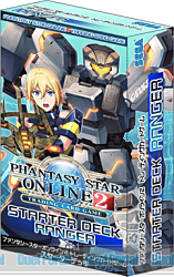 PHANTASY STAR ONLINE 2 TRADING CARD GAME スターター デッキ レンジャー