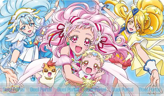 キャラクターラバーマット HUGっと!プリキュア HUGっと!プリキュアA (ENR-027)