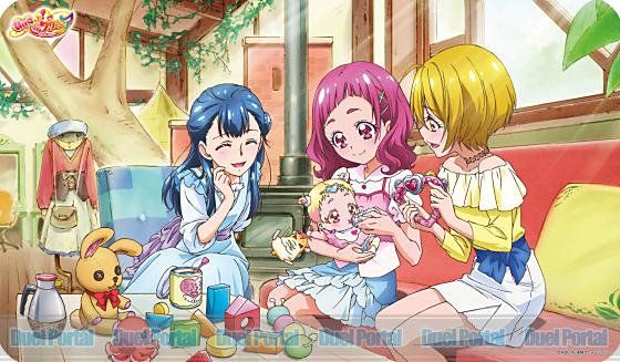 キャラクターラバーマット HUGっと!プリキュア HUGっと!プリキュアB (ENR-028)