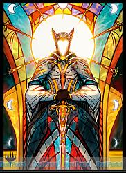 マジック:ザ・ギャザリング プレイヤーズカードスリーブ 『ドミナリア』 《ベナリア史》 (MTGS-032)